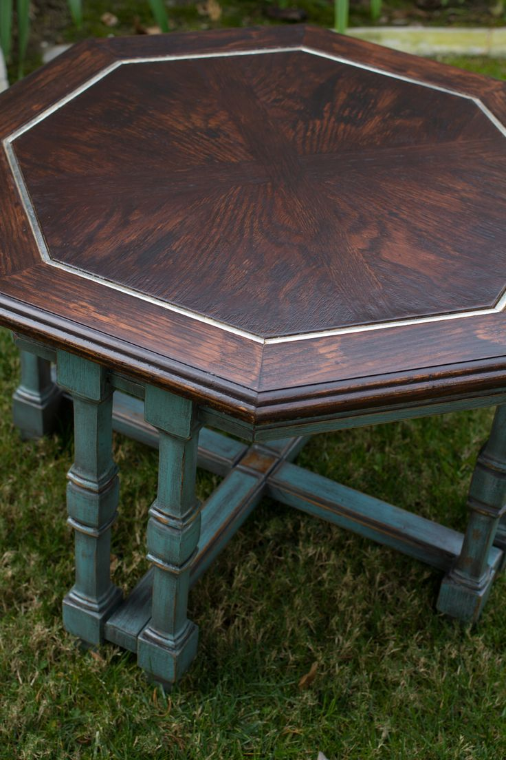 17 best ideas about octagon table on pinterest diy for Octagon coffee table plans