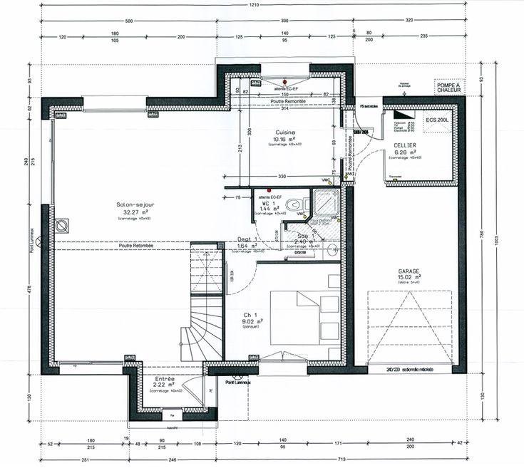 Plan maison écologique le plan du0027une maison écologique au Plessis
