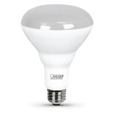 Feit Electric 65W Equivalent Dimmable Soft White BR30 LED Flood Light Bulb