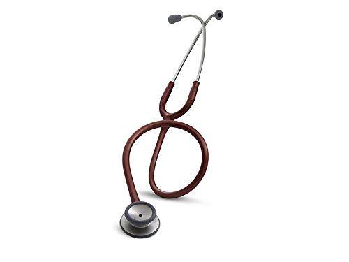3M Littmann Classic II S.E. Stethoscope, Burgundy Tube, 28 inch, 2211