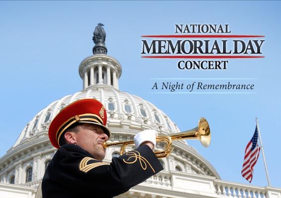 National Memorial Day Concert...a time to remember, to heal, to bring our nation together...2011