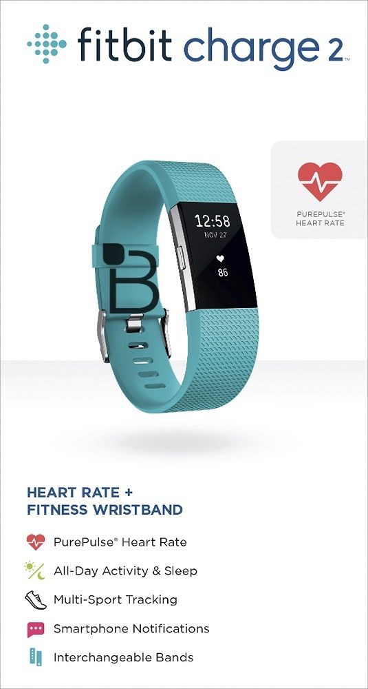 Fitbit Charge 2 (Teal)