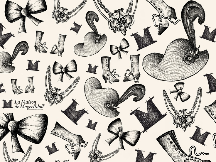 La idea de marca que surge para representar el Universo de la marca La Maison de Mageritdoll ha nacido del concepto de grabado como representación de sus valores principales. Estos valores son dulzura, artesanía, humildad y calidad y encuentran en esta representación artística su máxima expresión...  La Maison de Mageritdoll. Pequeña Alta Costura. Petite Haute Couture.