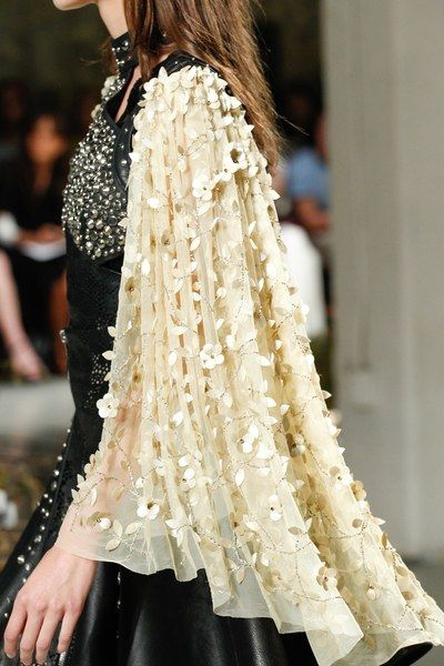 Details at the Rodarte Spring 2017 show at New York Fashion Week.