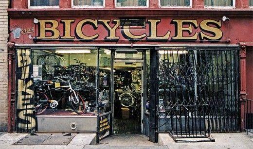 Old bike shop