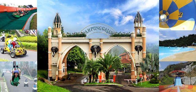 Wisata Keluarga di Kampung Gajah Bandung