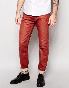 Узкие джинсы с переходом цвета Diesel Belther