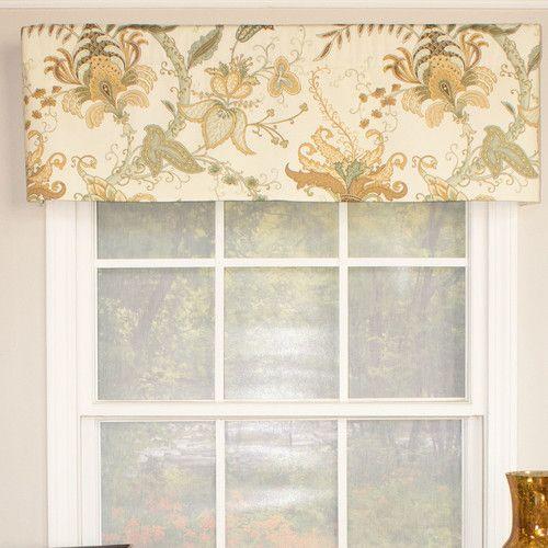 Found it at Joss & Main - Pamela Floral Print Curtain Valance