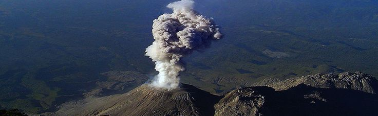 Volcano Santiaguito, Quetzaltenango, Guatemala. #MayanGateway
