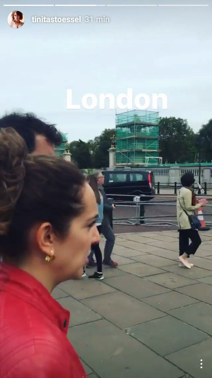 Tini is in London. #TINI