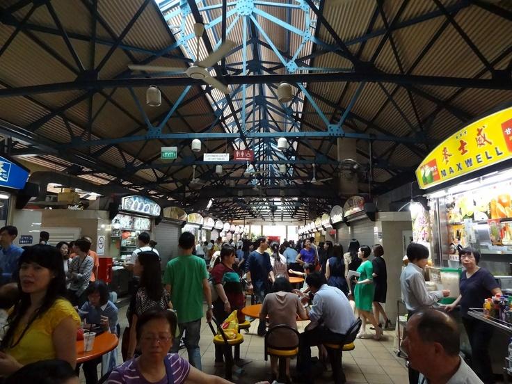 Singapore / Hawker market / Joanna Łukasiewicz