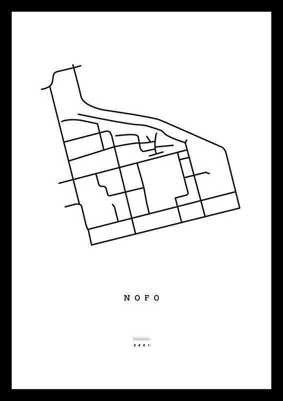 Karta NOFO, Stockholm via kvarteren. Click on the image to see more!