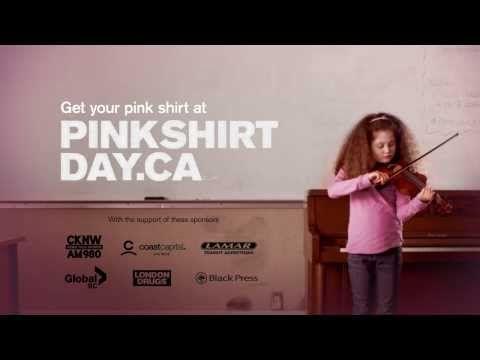 Pink Shirt Day PSA 2014