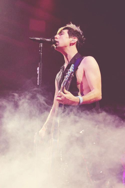 Marianas Trench  Josh is my inspiration