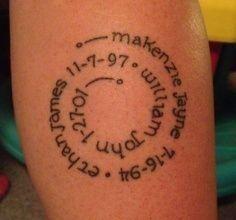 Mom Tattoos We Love!