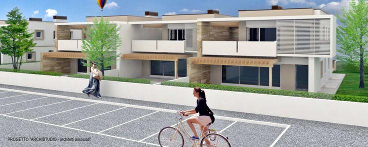Progetto di case a schiera - Mellaredo di Pianiga (VE) Italy