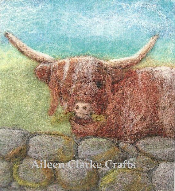Highland Kuh Print