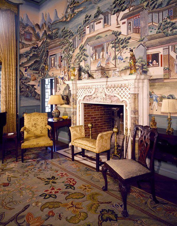 Chinoiserie... mccann-house-china-trade-room