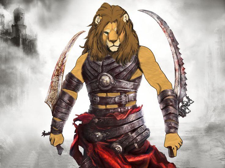 Deviantart Lion Warrior
