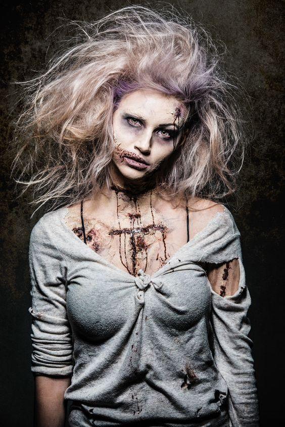 Make zombie costume yourself | Carnival, Halloween & Carnival – Carnival #Halloween # Idea # Carnival # Costume