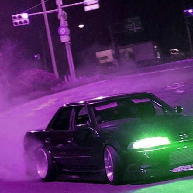Purple Neon In 2020 Street Racing Cars Jdm Wallpaper Japan Cars