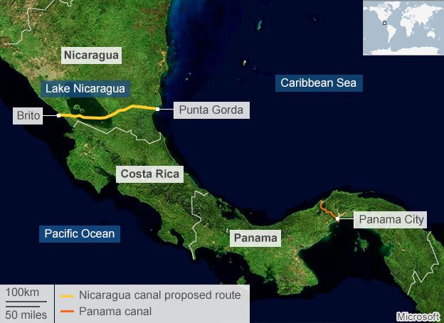Nicaragua has enlisted a mysterious Chinese billionaire to dig a canal bigger than Panama's. What could go wrong?