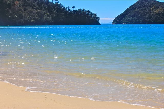 Abel Tasman National Park, South Island, New Zealand. Spent two glorious weeks here back in 2003. Loved it!!