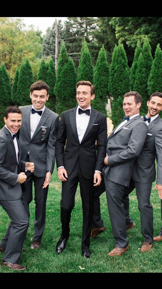 Groom's Classic Black Tuxedo for Outdoor Vintage Wedding! For more details visit Blacklapel.com! #tuxedo #formalattire #groomsmen #groomsattire #blacktiewedding #blacktiegroom #suspenders #menswear #vintagewedding