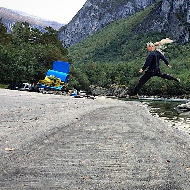 Spontanbesök i Norge för att hämta energi! :)