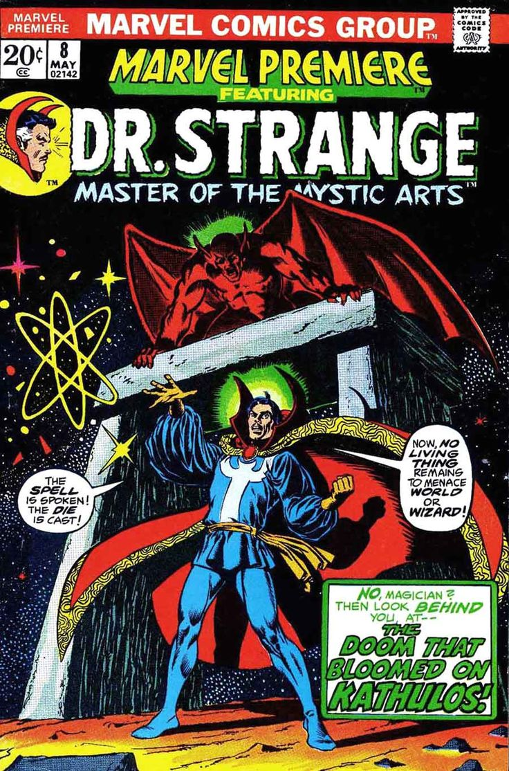 Dr. Strange, Cover by Jim Starlin, 1973