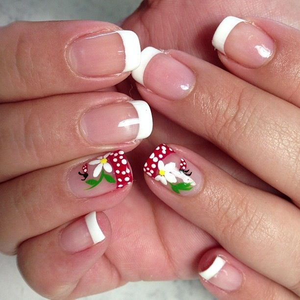 We have gathered here for you some 42 cute ladybug nail art designs that  you can go through and choose the best design for yourself. - 25+ Beautiful Ladybug Nails Ideas On Pinterest DIY Ladybug Nails