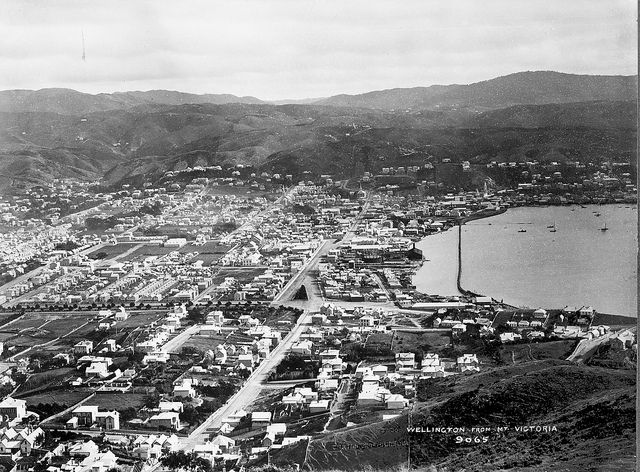 Wellington City, 1884   Flickr - Photo Sharing!