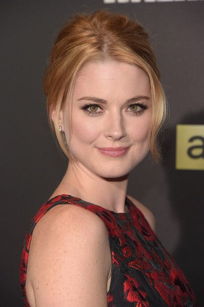 "Alexandra Breckenridge Photos Photos - Actress Alexandra Breckenridge attends the season six premiere of ""The Walking Dead"" at Madison Square Garden on October 9, 2015 in New York City. - 'The Walking Dead' Season Six Premiere"