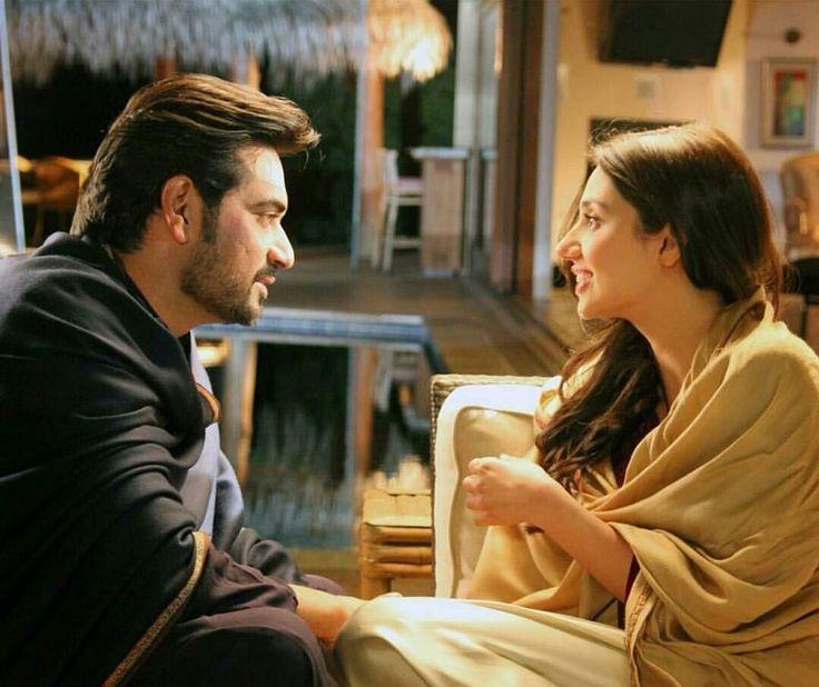 Humayun Saeed with Mahira Khan in #Binroye #Shooting