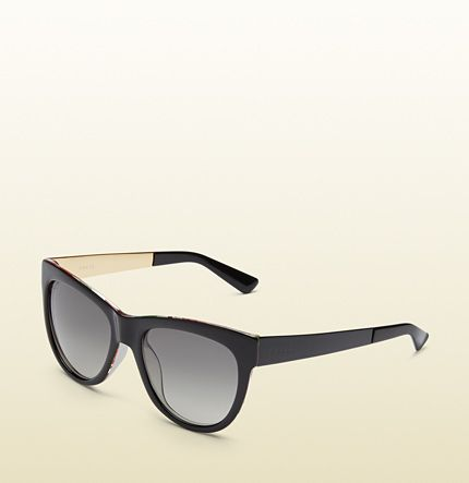 Gucci - gafas de sol de ojo de gato con seda flora 391311J13505201