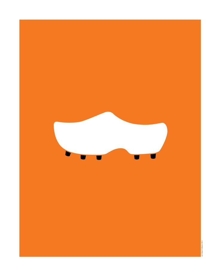 World Cup posters: Netherlands – artofsportstore   I want this on a tshirt.