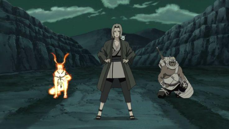 Tsunade The 5th Hokage, Naruto and Killer Bee