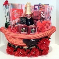 romantic gift basket - Google Search