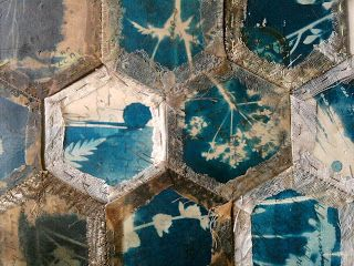 Hannah Lamb: Patches - Patching together fragments of memories - moments in time. #patchwork