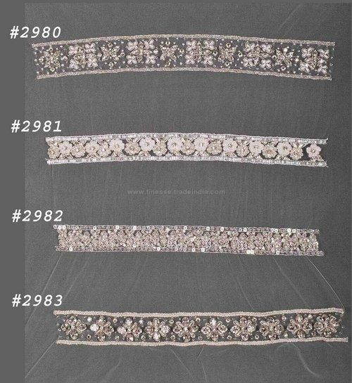 Diamante Beaded Bridal Trims