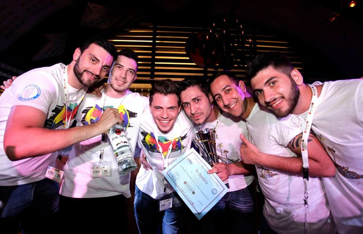 From the young bartender competition 2013 - Thessaloniki