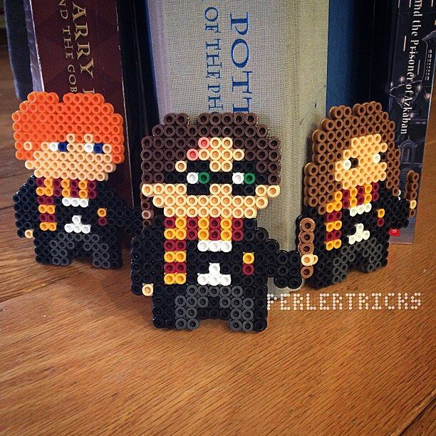 Harry Potter characters - Original perler design by perlertricks (by HarmonArt2)