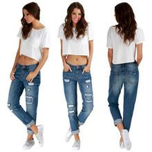 Madison Square Slice It Up Boyfriend Jeans