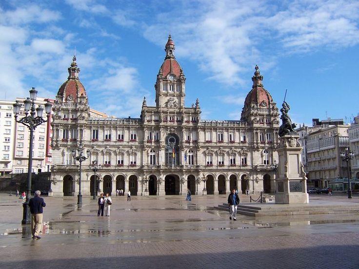 Plaza María Pitá, A Coruña