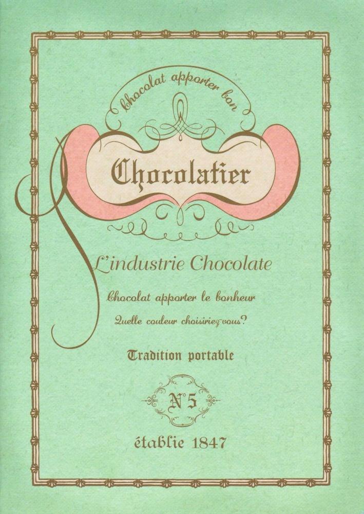 Mint Chocolatier Notebook