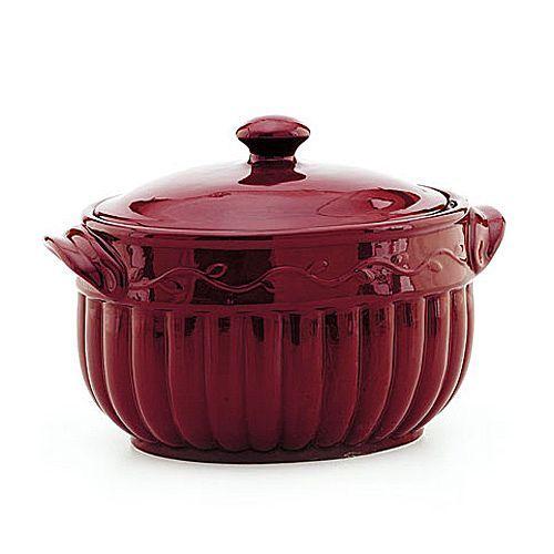Celebrating Home Berry Bean Pot -- bean pot recipes