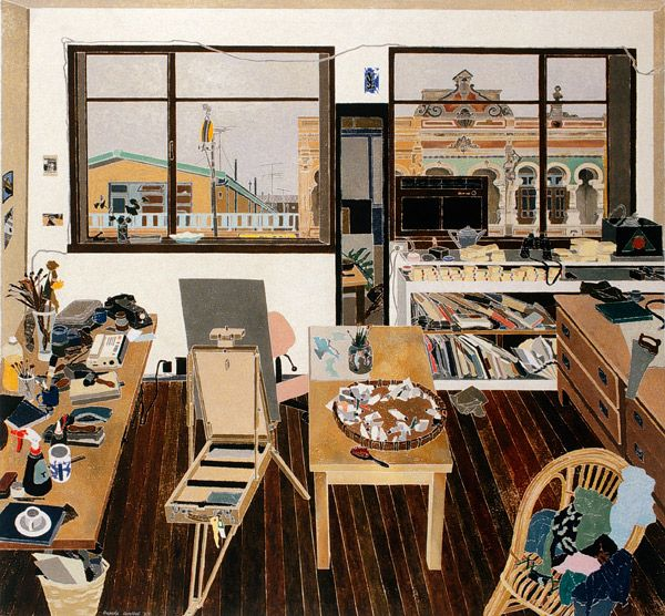 the homely place: Cressida Campbell