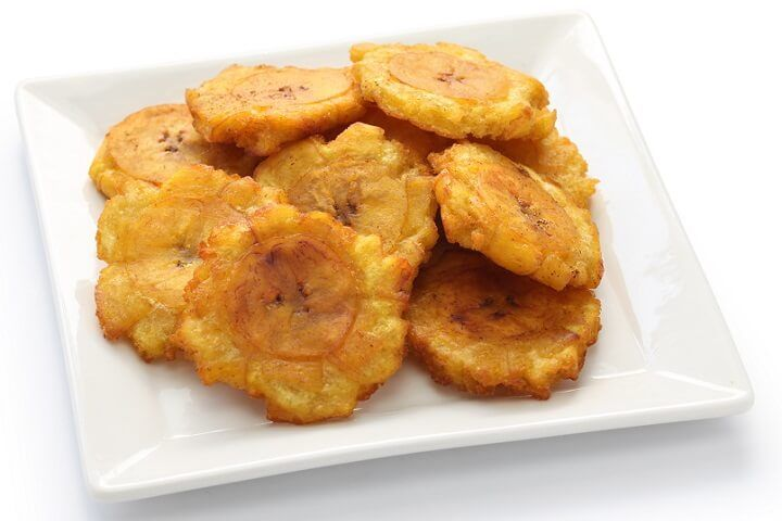 Otherwise known as Fritos Verde, Tostones are an awesomely simple side and are loved by both the Spanish and English speaking Caribbean.