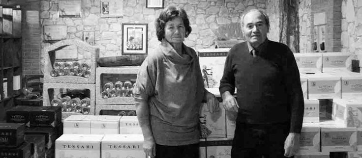 "Aldo and Bianca, ""father and mother"" as the children call them, with many sacrifices devolped the winery and transmitted the passion for Garganega, creating the first Recioto that still today the company produces."