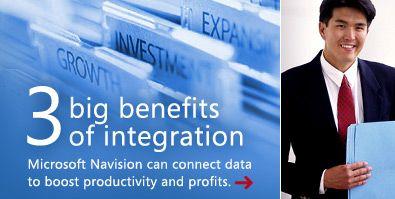 3 big benefits of integration